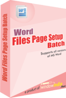 >15% Off Coupon code Word File Page Setup Batch