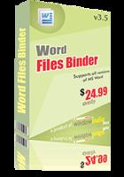 Word Files Binder discount coupon
