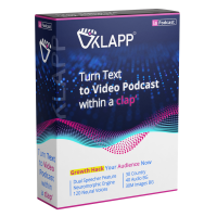 45% OFF Klappz LifeTime : First Text-to-Video App In The World.