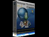 Webpage Thumbnail Creator – Single PC license discount coupon