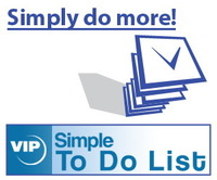 A VIP Simple To Do List discount coupon