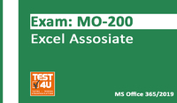 35% OFF MO-200 Excel Associate Exam - Office 365 & Office 2019 - English version - 25 hours of access