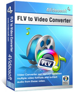 4Videosoft FLV to Video Converter discount coupon