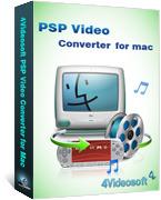4Videosoft PSP Video Converter for Mac discount coupon