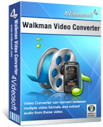 4Videosoft Walkman Video Converter discount coupon