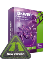 Home products (Dr.Web Anti-Virus)+Free protection for mobile device! activate key