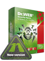 30% OFF Home products (Dr.Web Security Space)+Free protection for mobile device!